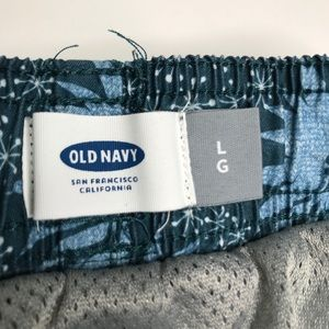 Old Navy Swim - Old Navy Green Swim Board Shorts A170444